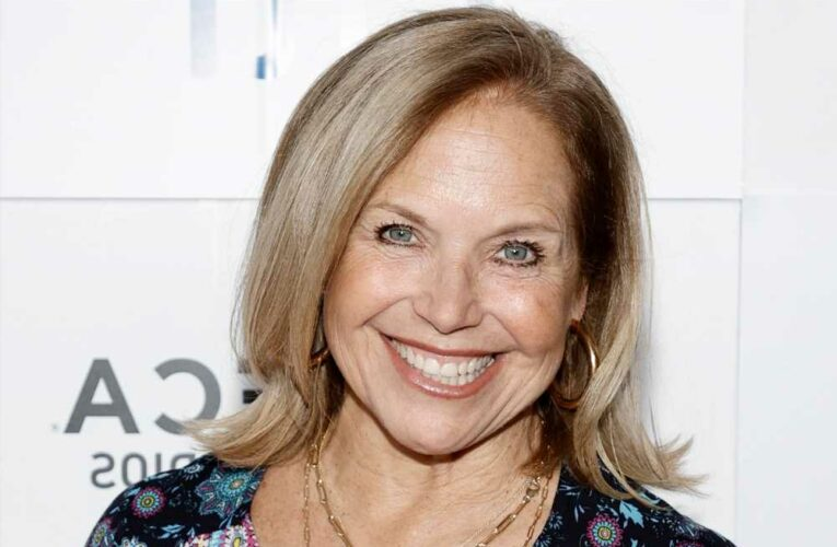 Katie Couric shows off dress she wore to daughter Ellies wedding