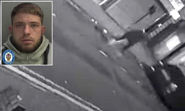 Killer-driver, 27, caught on CCTV is jailed for at least 20 years