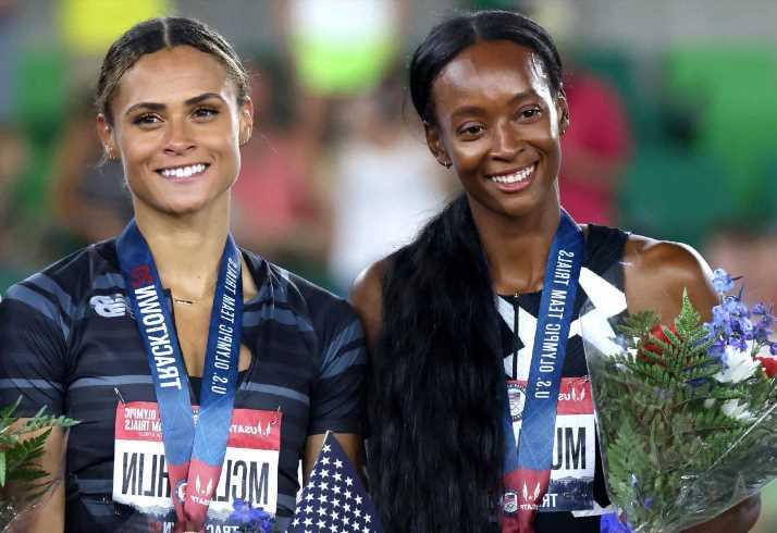 Local stars Sydney McLaughlin, Dalilah Muhammad taking duel to Olympics