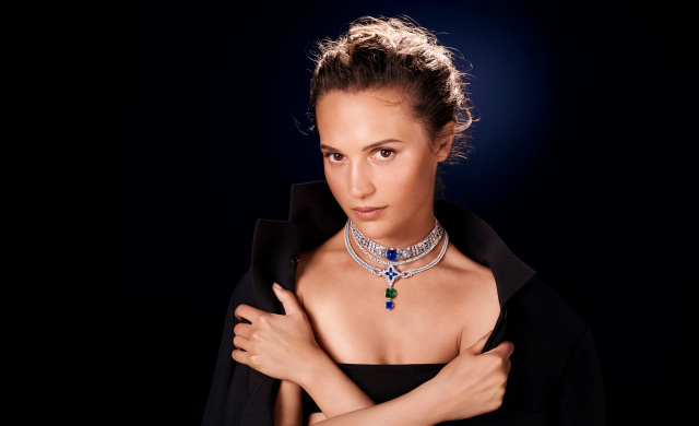Louis Vuitton Emphasizes High Jewelry Thrust With Alicia Vikander Campaign