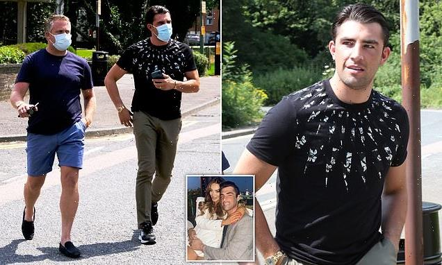 Love Island's Jack Fincham arrives at court with his stepfather