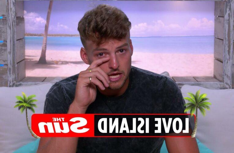 Love Island's Hugo breaks down in tears amid villa turmoil and rejection by Chloe