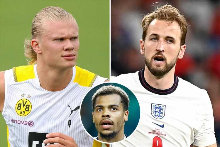 Lukas Nmecha reveals Man City ARE 'getting another top striker' amid Harry Kane and Erling Haaland transfer talk