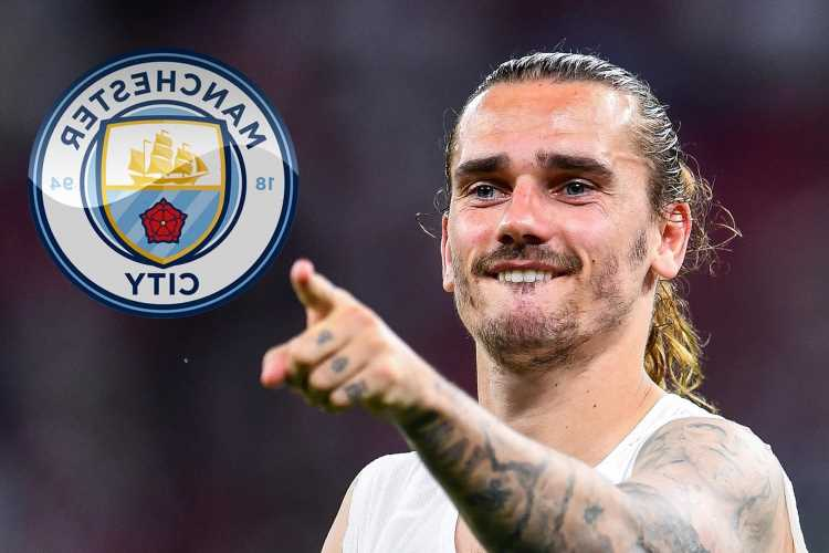 Man City 'make contact' with Antoine Griezmann over transfer with Barcelona willing to flog star to reduce wage bill