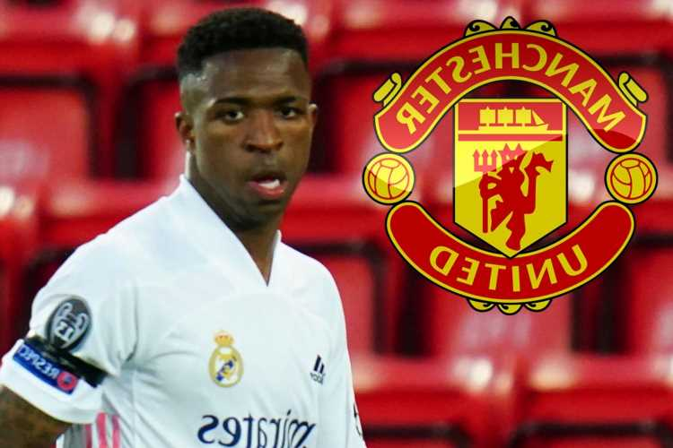 Man Utd 'offered Vinicius Jr transfer during Raphael Varane negotiations but won't pay Real Madrid £68.5m asking price'