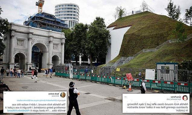 Marble Arch Mound is SHUT after two days amid storm of criticism