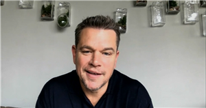 Matt Damon leaves The One Show fans swooning with gorgeous appearance on show