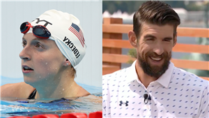 Michael Phelps Says Olympic Swimmer Katie Ledecky Would've 'Destroyed' Him (Video)