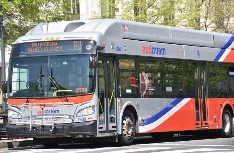 More than a dozen people injured in DC Metro bus crash