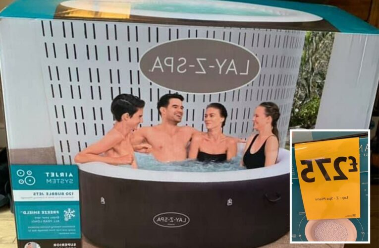 Morrisons is selling a Lay-Z Spa hot tub for £275