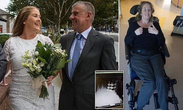 Mother woke up paralysed from the neck down after falling out of bed
