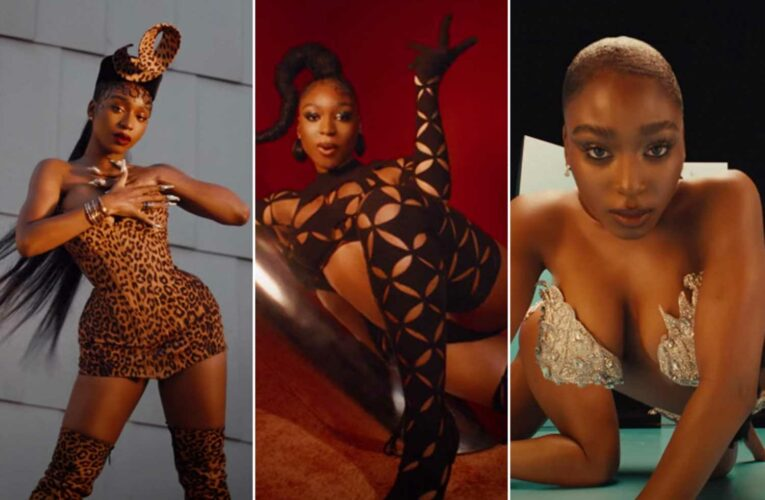 Normani shows her 'Wild Side' in crystals, cutouts and corsets for new video
