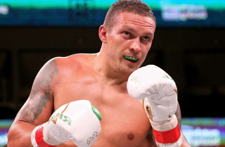 Oleksandr Usyk's scary record of fighting on enemy territory as he prepares for Anthony Joshua clash at Spurs