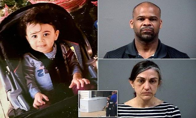 Parents 'left body of Virginia boy, 4, in their freezer for TWO YEARS'
