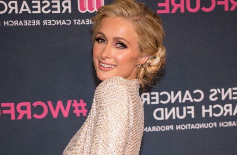 Paris Hilton Denies Pregnancy Rumors