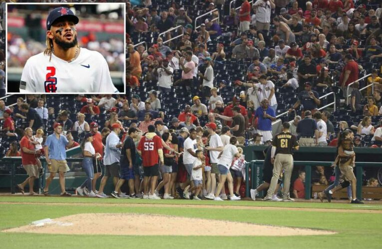 Players bring family, fans into clubhouse after shooting outside Nationals game