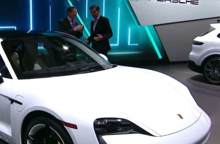 Porsche recalls flagship electric model Taycan over software issue