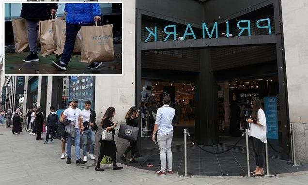 Primark hits record £1.6bn in sales after Covid restrictions eased
