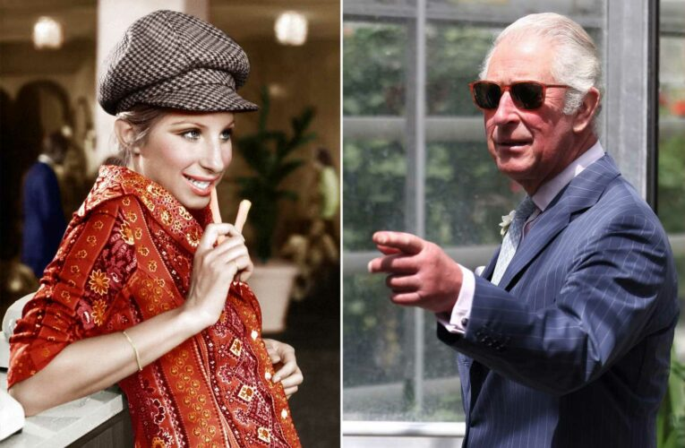 Prince Charles recalls being captivated by Barbra Streisand as a young man