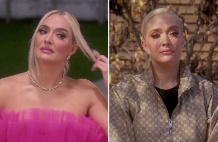 RHOBH star Erika Jayne's actions 'seem rehearsed' & 'forced' as she cried over Tom's lawsuit, body language expert