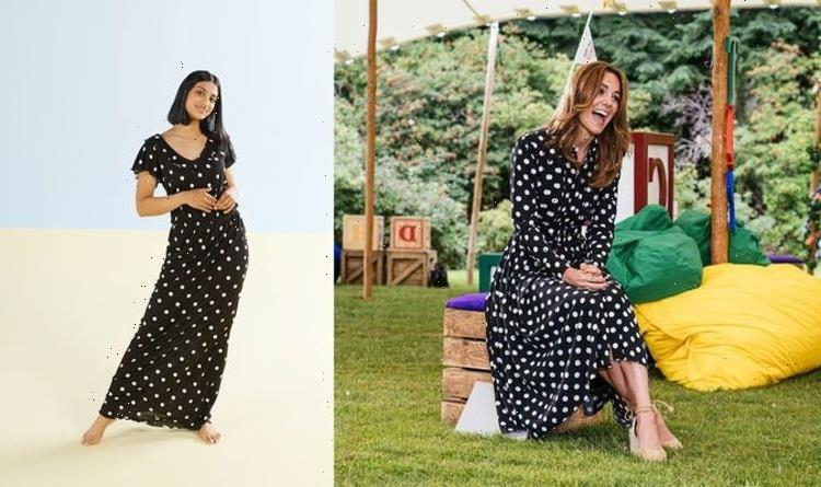 Recreate Kate Middleton's £1,565 polka dot dress for £7.99 at Aldi – shop now