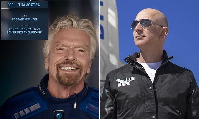 Richard Branson denies he and Jeff Bezos are in a space battle