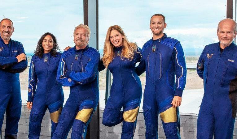 Richard Branson set to blast off into space aboard rocket plane