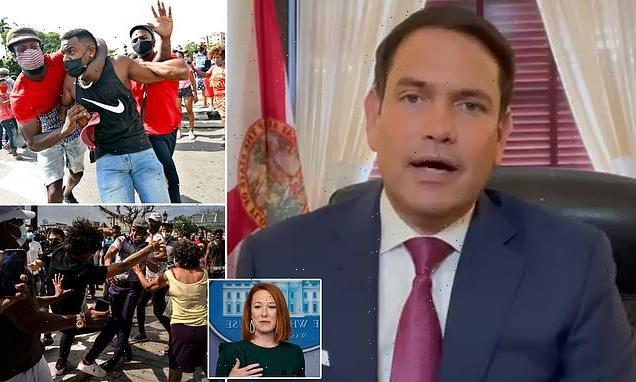 Rubio warns of a 'horrific bloodbath' in Cuba if Biden doesn't act