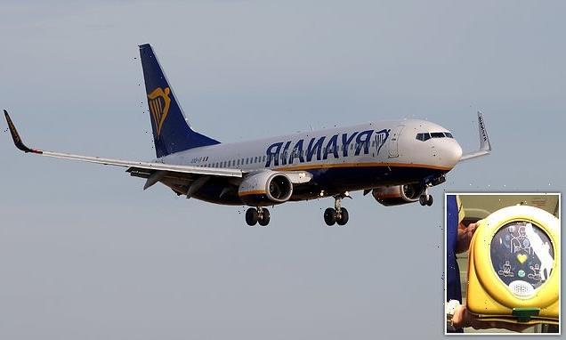 Ryanair passengers watch in shock as holidaymaker, 84, dies