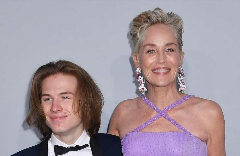 Sharon Stone Took Her Son as a Date for the Cannes Red Carpet