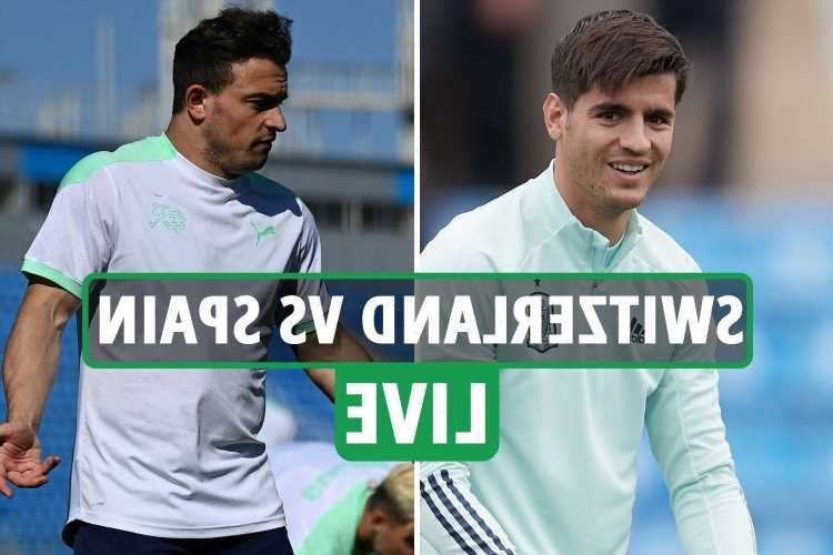 Switzerland vs Spain LIVE: Stream FREE, TV channel, team news, kick-off time for TONIGHT'S Euro 2020 quarter-final clash