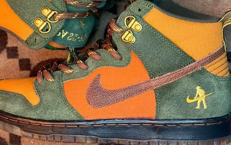 """Take a First Look At the Pass~Port x Nike SB Dunk High """"Workboot"""""""