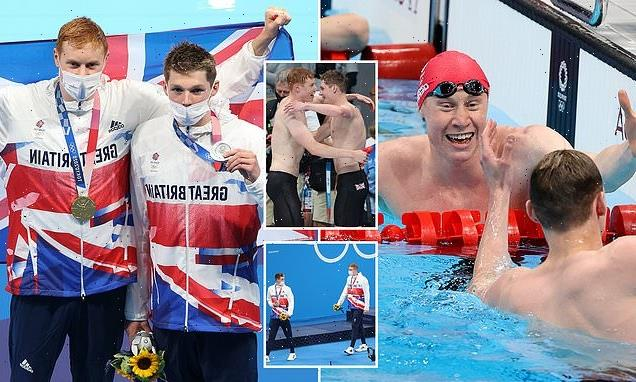 Team GB: Dean and Scott spurred each other on to gold and silver