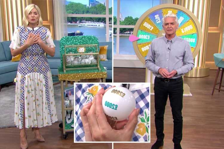 This Morning's Phillip Schofield gives EXTRA £1,000 to big-hearted Spin To Win player after they gave prize to charity