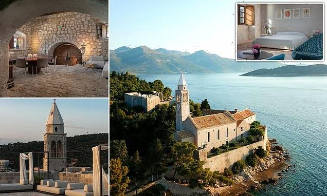 This ex-monastery island hotel is like a Game of Thrones set