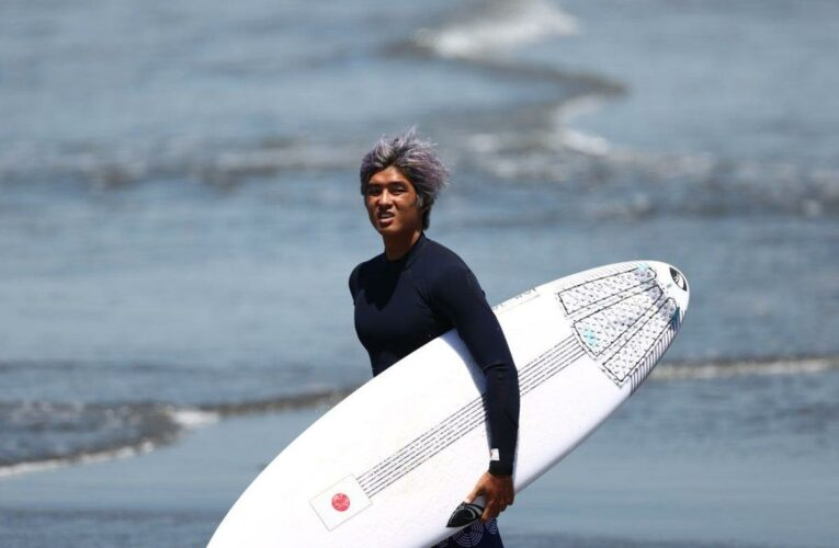 Tokyo 2020: Poster boy Kanoa Igarashi ready to ride wave of excitement as surfing debuts at Olympics