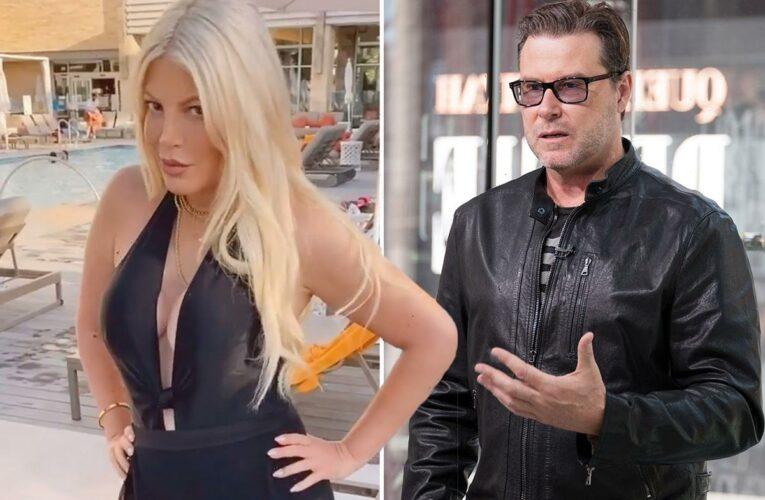 Tori Spelling takes 'wife' out of Instagram bio amid rumors she secretly SPLIT from husband Dean McDermott