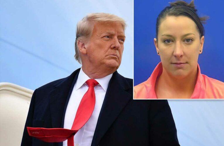 Trump riddles followers with strong message: 'Who shot Ashli Babbitt?'