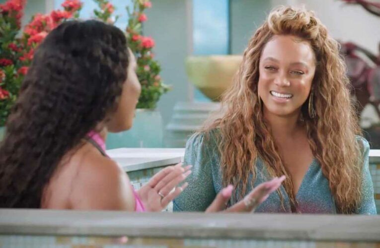 Tyra Banks wears glam outfit in hot tub with Megan Thee Stallion, goes viral