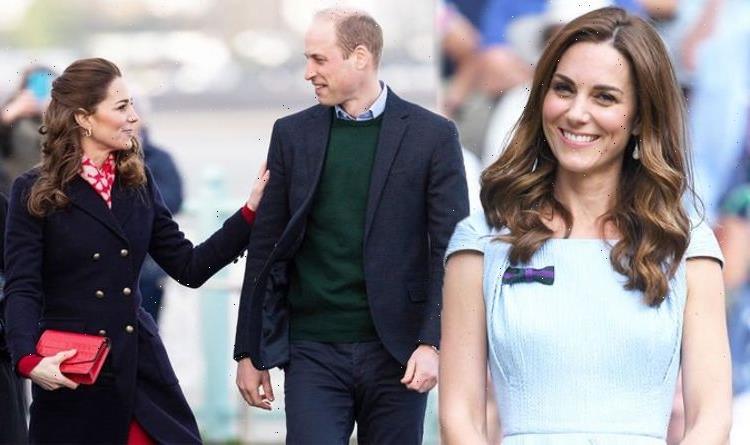 Very happy in love: Kate Middleton and Williams tactile body language is unusual