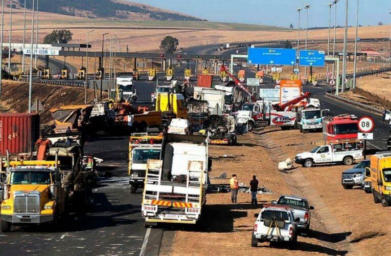 Violence erupts over jailing of South Africa's ex-president
