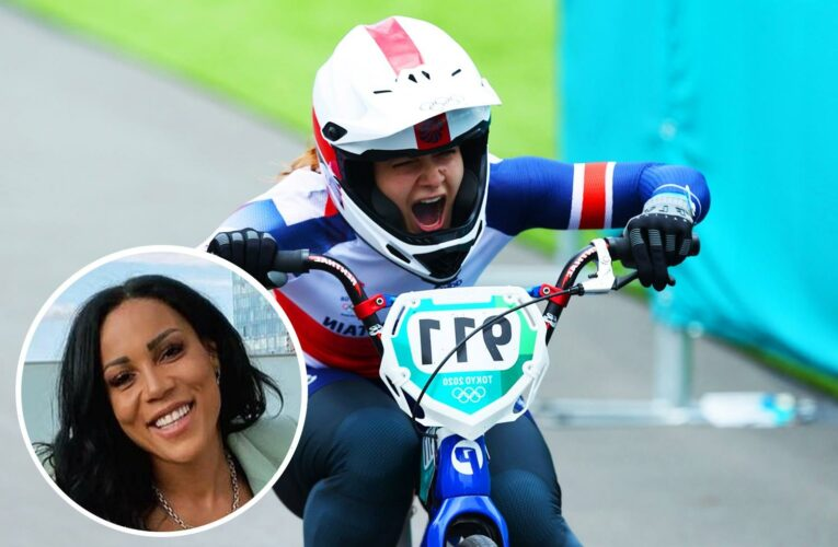 Watch BBC commentator lose it during BMX final as she repeatedly screams 'ALL THE WAY' as Shriever wins gold for Team GB
