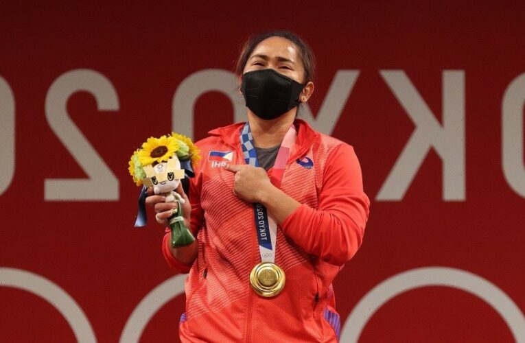 Watch Hidilyn Diaz Win Philippines' First-Ever Olympic Gold Medal (Video)