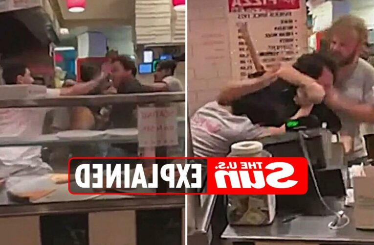 What was the Joe Pizza's fight in New York City?
