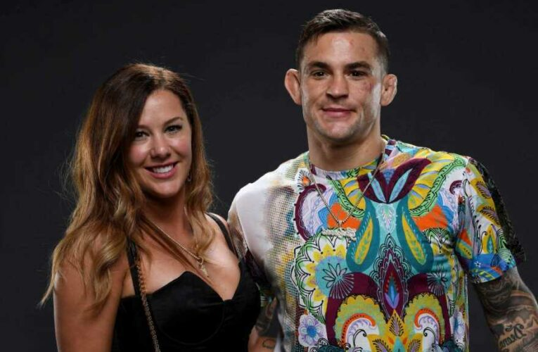 Who is Dustin Poirier's wife Jolie, how many children does UFC 264 star have and what's his MMA record? – The Sun