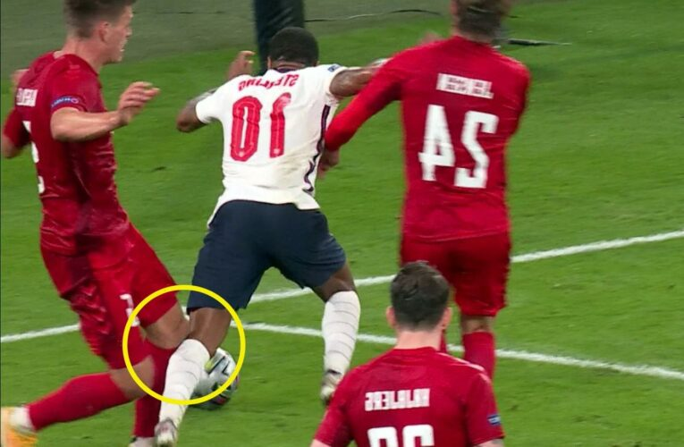 Why Raheem Sterling's controversial Euro 2020 penalty vs Denmark WAS a spot-kick, according to referees' chief