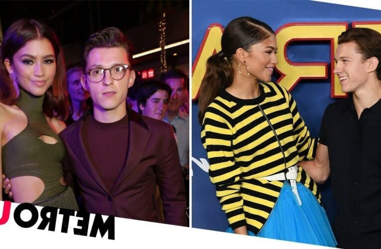 Zendaya and Tom Holland caught kissing as they confirm romance