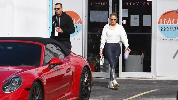 A-Rod Called A Savage By Fans As He Poses With Red Porsche He Gifted J.Lo In 2019