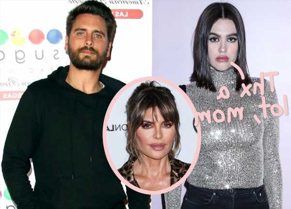 Amelia Hamlin Responds Publicly To Mom Lisa Rinna's 'Why The F**k Is It Scott Disick' Comment, And…