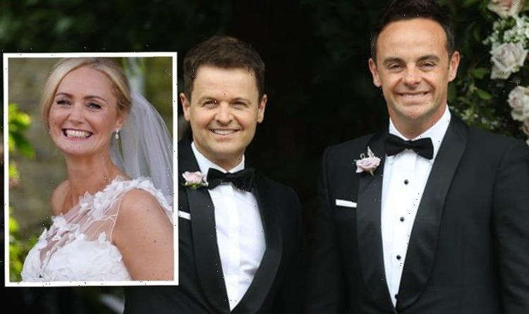 Ant McPartlin wedding: Anne-Marie shares first look of dress at lavish £100k ceremony